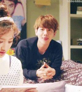 my favorite part in all EXO next door: Baekhyun's little feet.