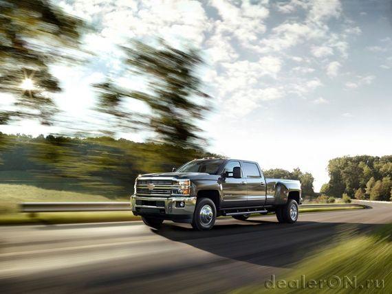 Chevrolet Silverado HD 2015 / Шевроле Сильверадо HD