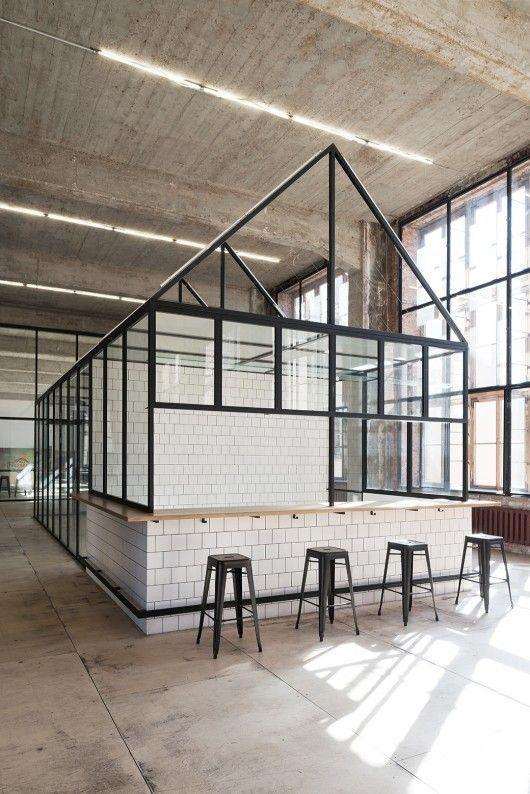 25 beste idee n over pakhuis kantoor op pinterest kantoorruimte ontwerp moderne kantoren en - Kantoor deco ...