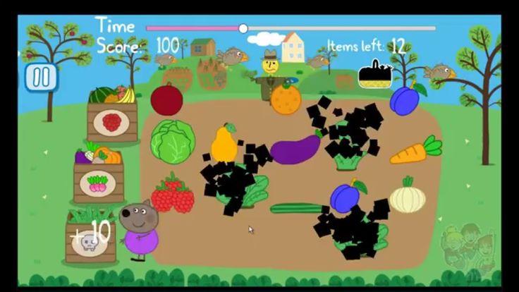Peppa Pig's Garden | compilation | English | Organic | Fruit and Veg | F...