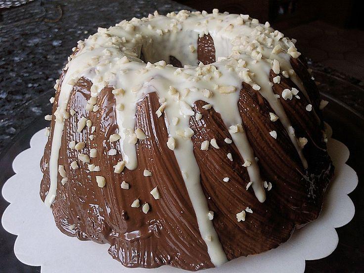 Nutella - Gugelhupf (Cheesecake Muffin Schokolade)