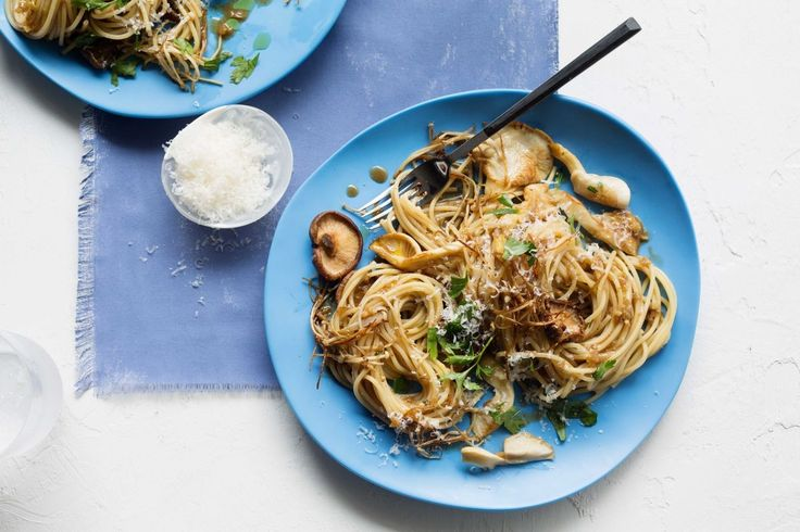 This wild mushroom spaghetti by Shannon Bennett is a quick and easy mid-week recipe guaranteed to please the entire family.