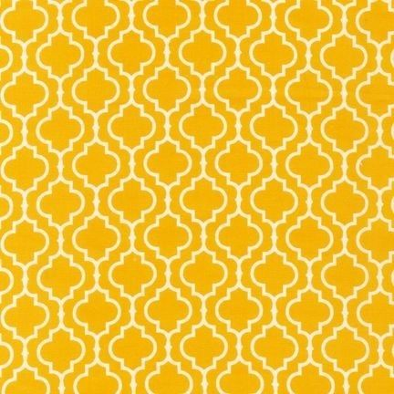 Part of the color palette for the new living room - yellow!
