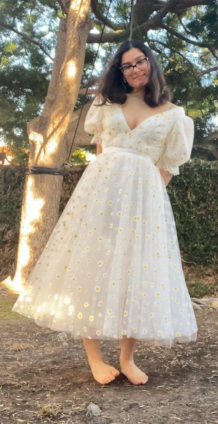 Cottagecore Create Your Own Version Of The Strawberry Dress With This Dreamy Tutorial In 2021 Strawberry Dress Fairytale Dress Ball Dresses [ 1415 x 728 Pixel ]