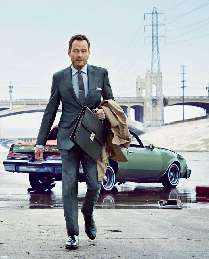 I've developed a crush on Bryan Cranston. He cleans up really nice.