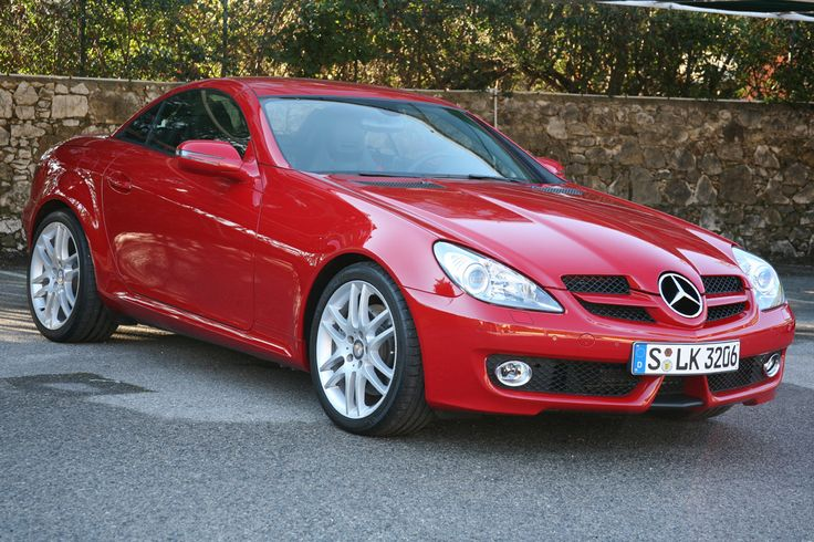 Mercedes Benz Slk Red Wow My Red Mercedes Is A