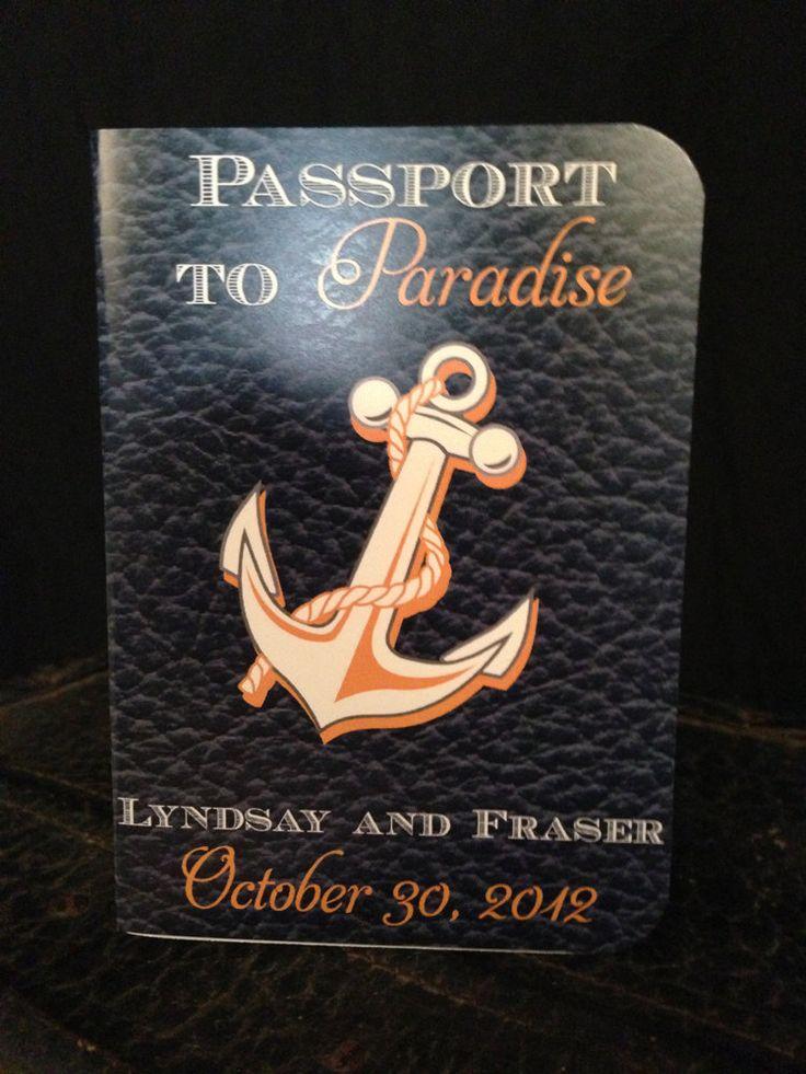 Cruise Ship Destination Wedding Invite