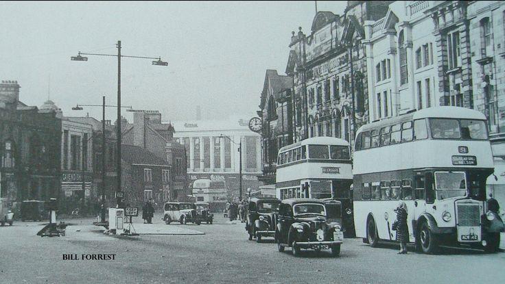 Town centre .