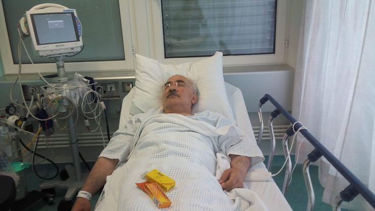 kurdish people kurdistan Yekty Uzunoglu v nemocnici ve Švýcarsku 2017