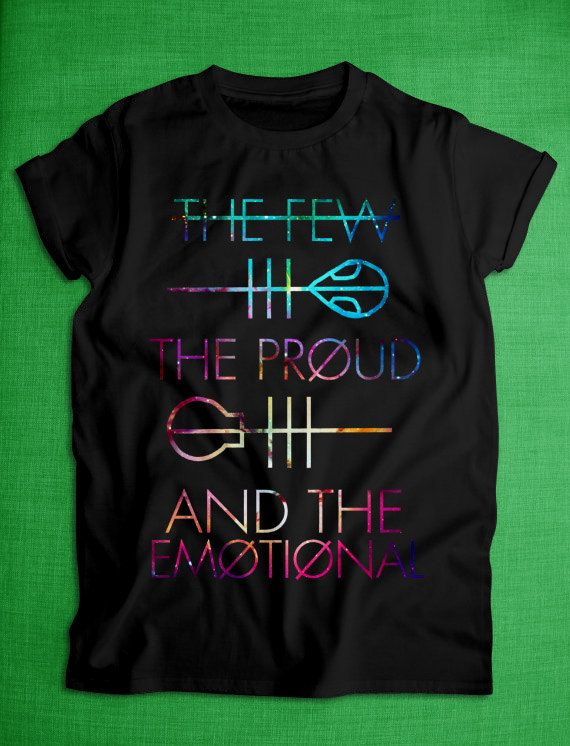 the few the proud and the emotional shirt tshirt tank by DUNHILLCA