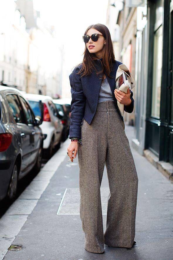 Estremamente Oltre 25 fantastiche idee su Pantaloni palazzo su Pinterest  GT98