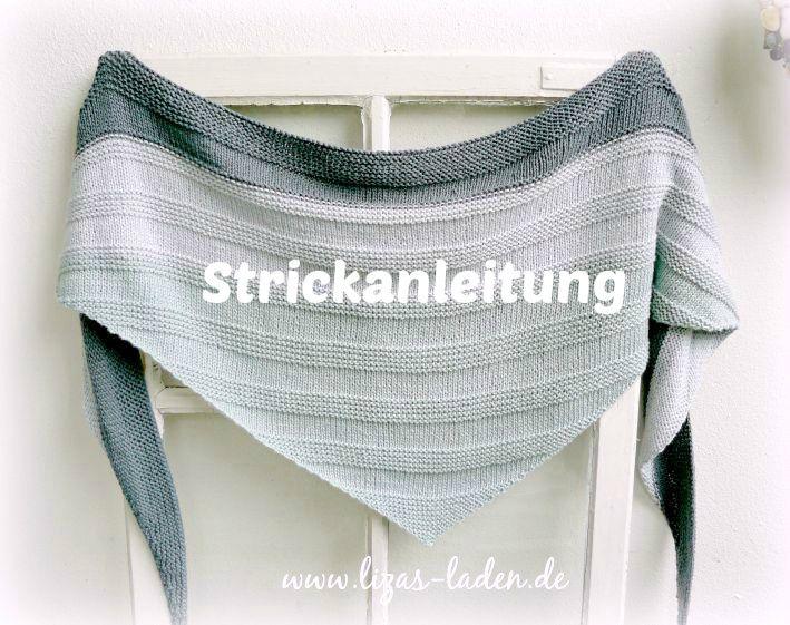 Strickanleitung für Lizas Dreieckstuch aus Lana Grossa 365 Cashmere www.lizas-laden.de