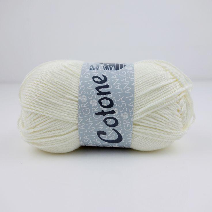Cotone uni von Lana Grossa / 28-Natur