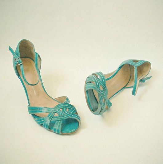 aqua shoes - My sister used to have a similar pair that I loved.