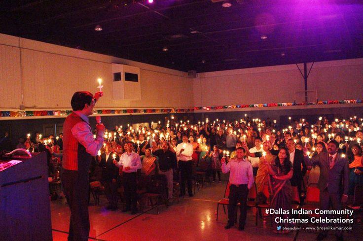 Dallas Indian Community Christmas Celebrations with Bro Anil Kumar