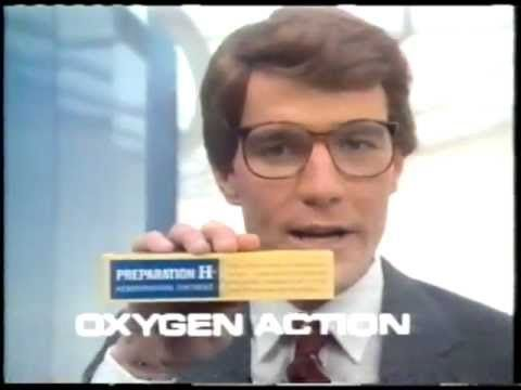 Breaking Bad's Bryan Cranston in Preparation H Commercial (1980s)