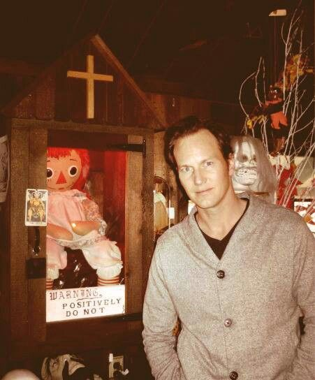 The original doll from The Conjuring