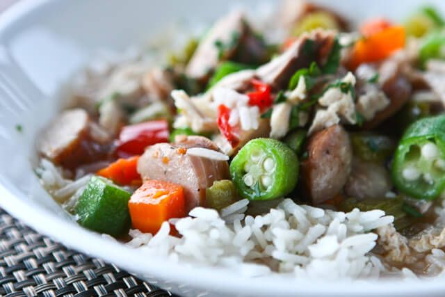 Leftover Turkey Recipe: Turkey Gumbo ~ http://steamykitchen.com