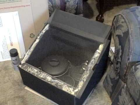 How to Build a DIY Solar Oven (Video)