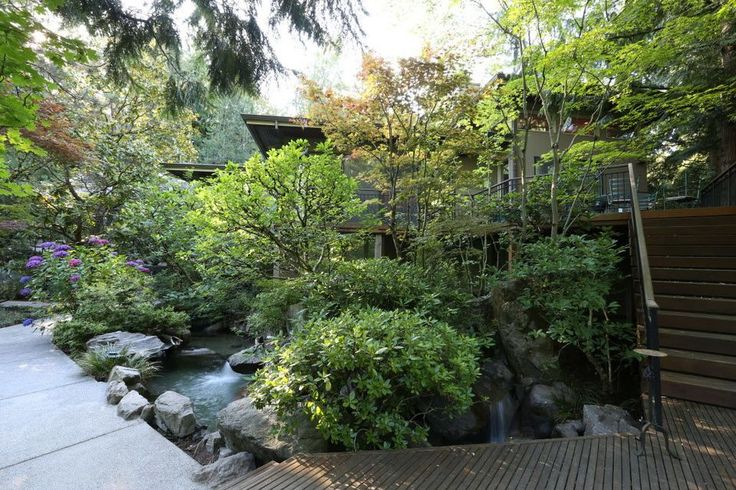 During its half-century history, the Portland Japanese Garden has influenced homeowners to turn a part of their yard into one that hints of the horticulture in the island nation across the Pacific like this home yard. Photo provided by Kurisu International in Portland