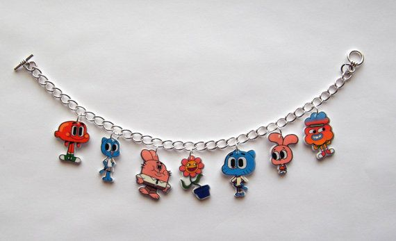 The Amazing World of Gumball Charm Barcelete Gumball by Murals4U, $19.99