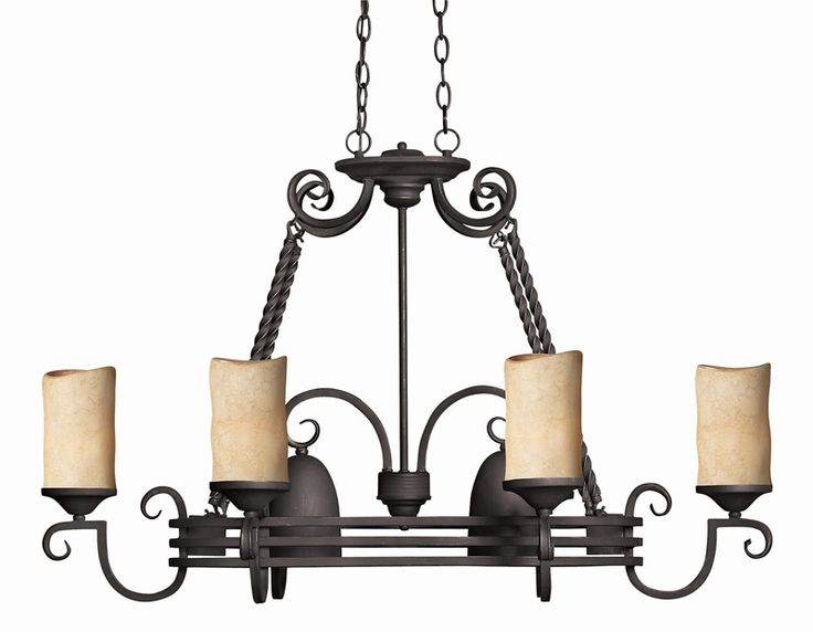 Hinkley 4016ol casa 8 light oval island chandelier 600watts olde black 24 5h x 38w