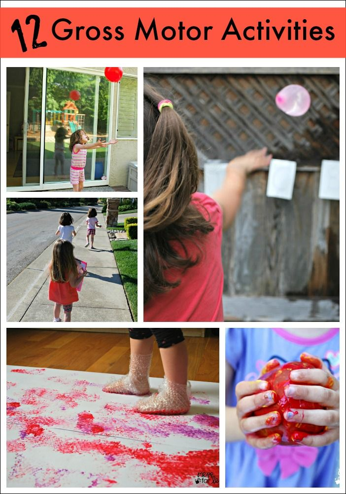 159 Best Images About Gross Motor Activities On Pinterest