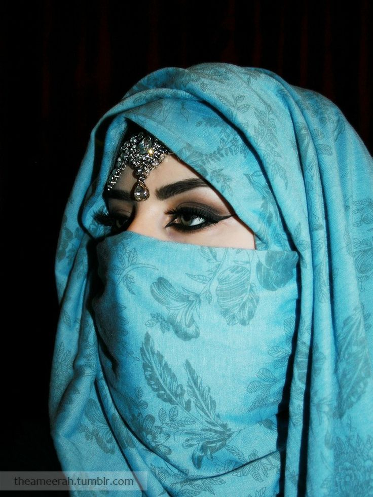 blue hijab-niqab. i NEED to know how she did this... http://www.lokmanavm.com/index.php