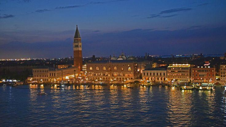 Venezia - Departure with Costa Mediterranea