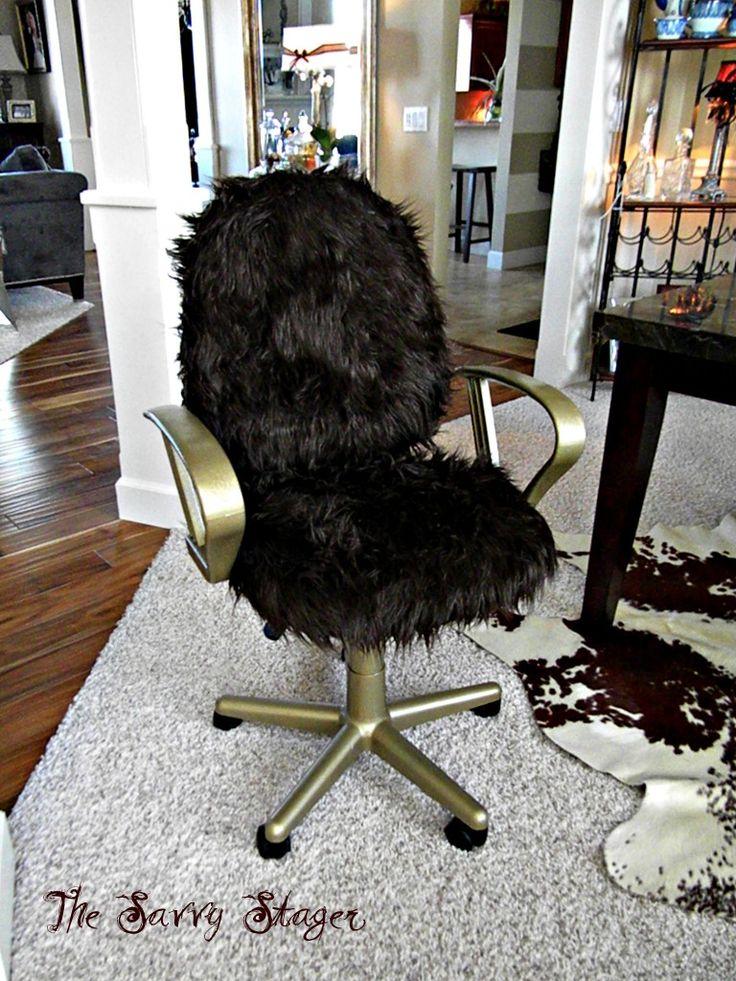 Office chair redo