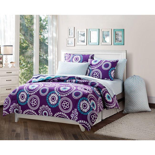 vcny malibu 9piece bedinabag set by vcny kids comforter