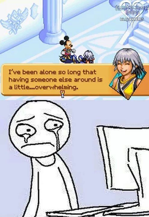 You may have been alone Riku, but you were never out of Sora's thoughts. Nor were yours off of him.