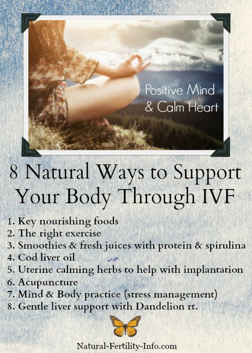 naturopathy seen to improve ivf outcomes Iui / ivf support if you are exploring assisted reproductive technologies (art) like ivf or iui, an integrative approach that combines conventional medicine with evidence based natural therapies can help to improve your success rates.