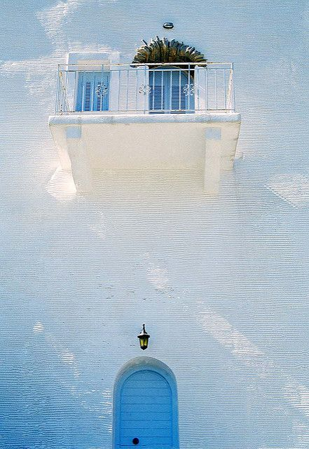 White and blue in Andros, Greece  www.aegeablue.com
