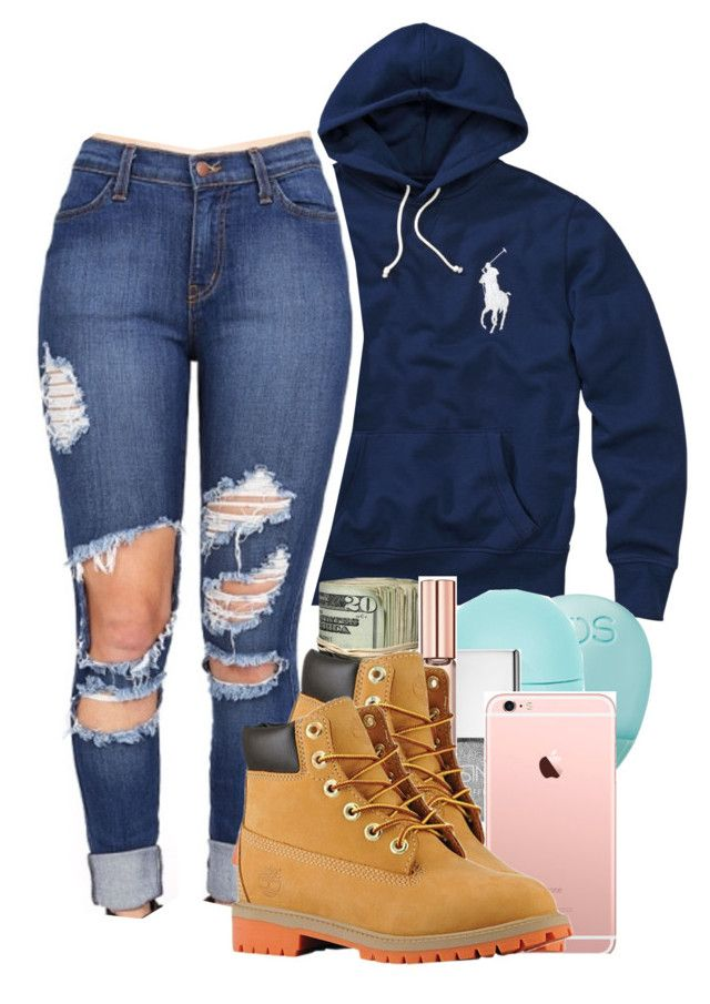 Untitled #551 by carlasaenz on Polyvore featuring polyvore fashion style Polo Ralph Lauren Michael Kors Topshop Eos Timberland clothing