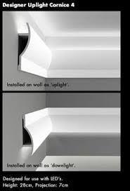 Resultado de imagen de down lighting cornice