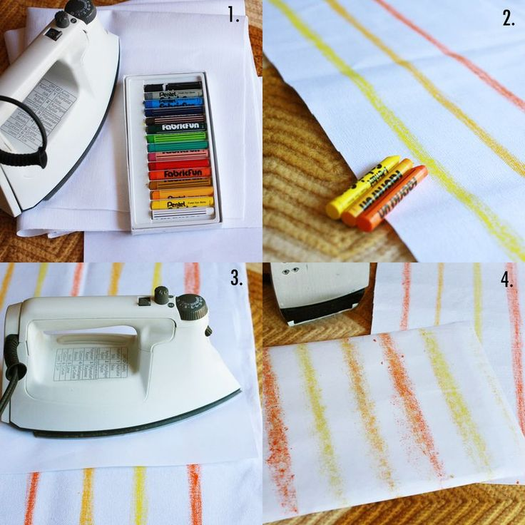 Fabric Dye Fun Sticks Let You Create Your Own Print