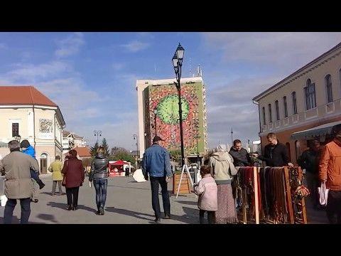 Informatii din Covasna: Orasul din frunze -O zi de Noiembrie