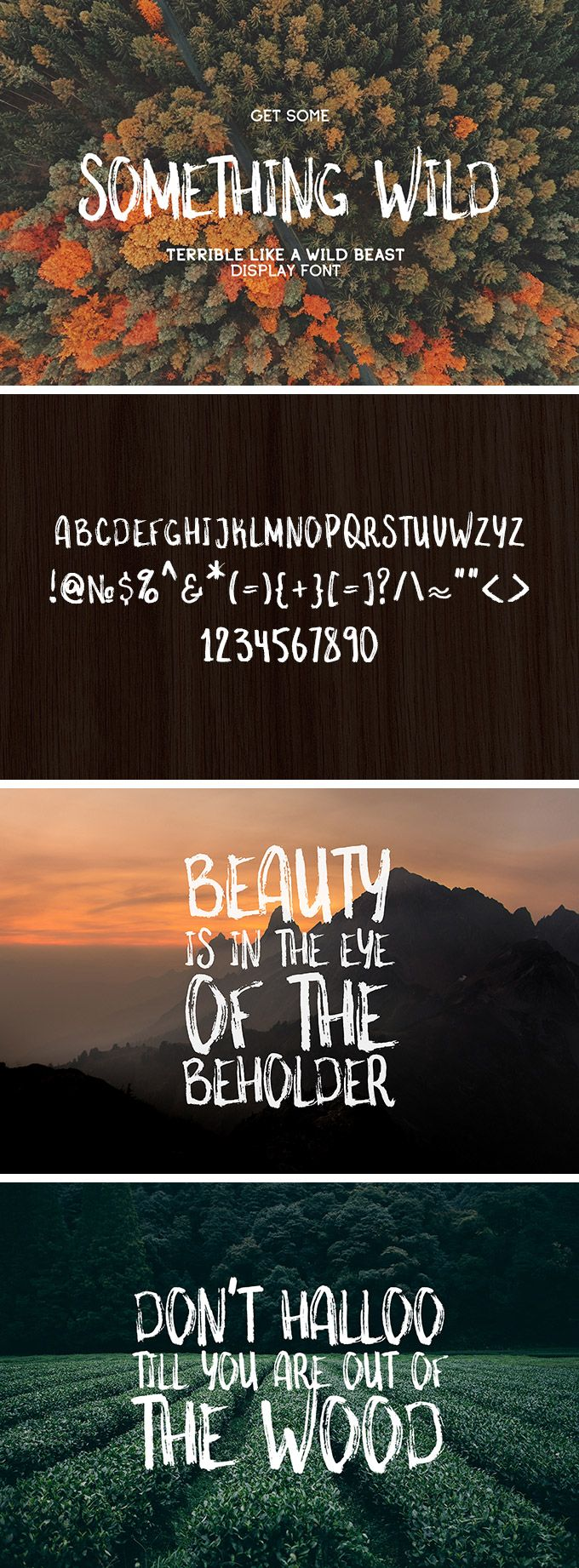 Something Wild Free Font. The font is royalty free for use in both personal and commercial projects.