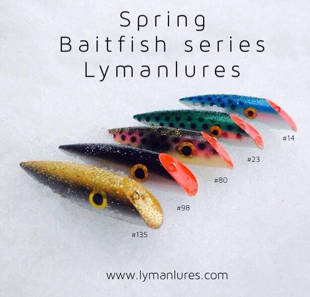 Can't wait to start spring fishing!! Lyman Lures