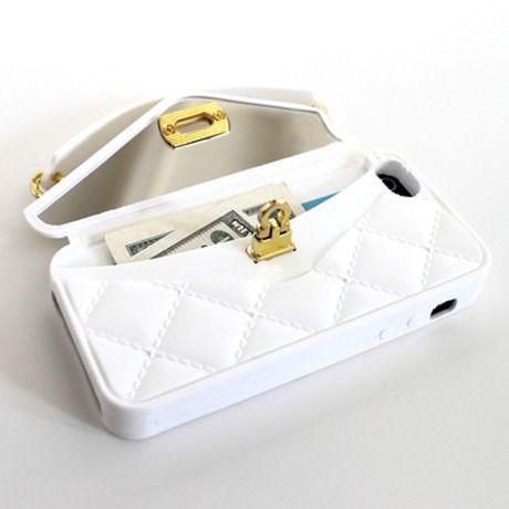 ホワイト - iPhone5+5S+5C用パースケース by Purse Case