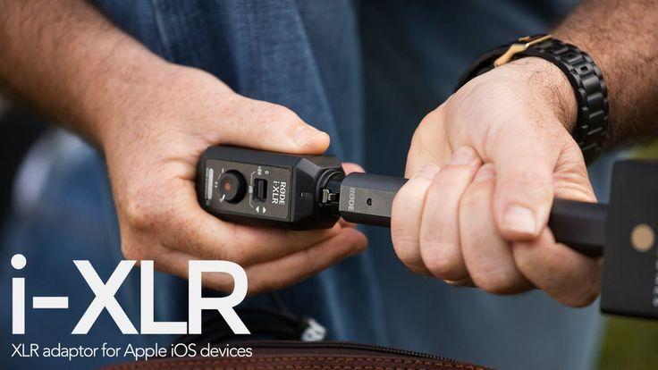 Introducing the RØDE i-XLR, Digital XLR adaptor for Apple iOS devices