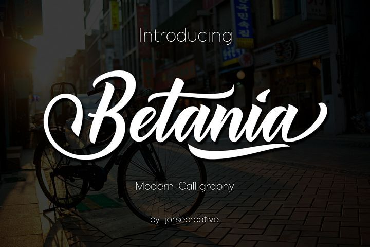 Betania Font is a combination of modern calligraphy letter by letter classic typography so that seemed so good and enchanting. Betania Font consists of 619 glyphs, covers the alternate character with 4 elect SWASH ALTERNATIVES including 11 elect terminal and the initial letter, alternately, ligatures and multiple language support.
