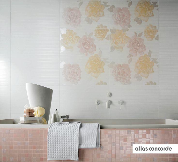#RADIANCE | #Flowers | #White | #AtlasConcorde | #Tiles | #Ceramic