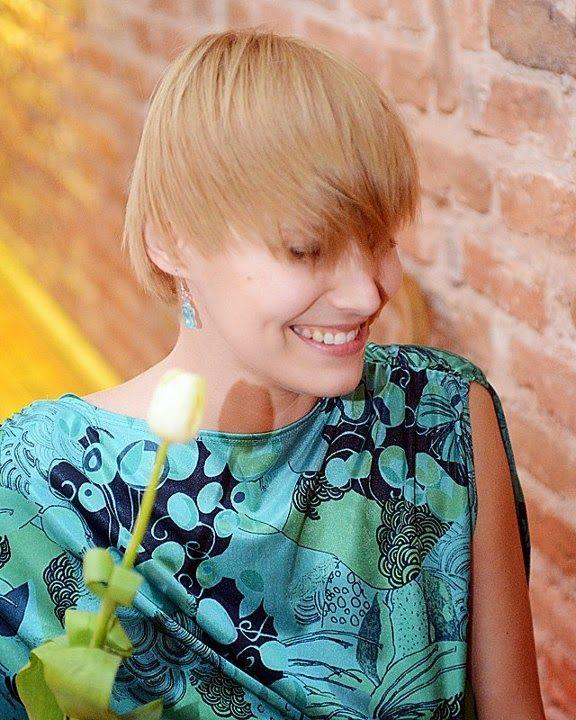 fryzura typu Glamour