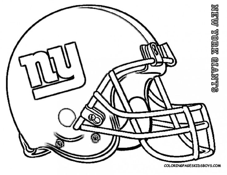 New York Giants Football Coloring Pages Coloring Pucs Football