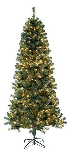 STL Mommy « St. Nicholas Square 7-ft. Pre-Lit Artificial Christmas Tree $61.99 (Retail $180)