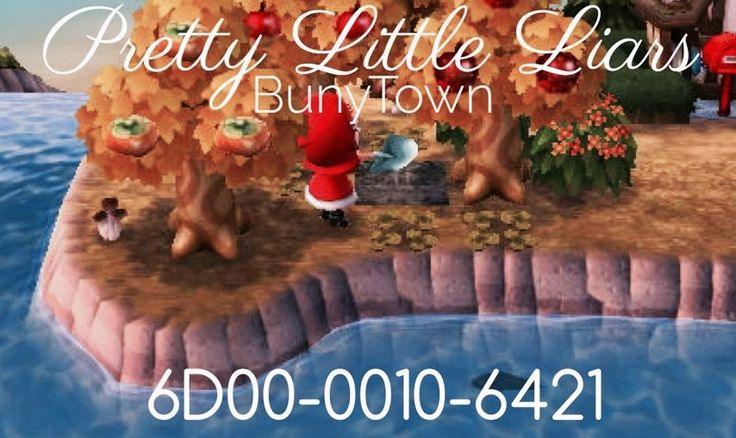 #prettylittleliars #acnl #acnlwa #animalcrossing #dreamcode Pretty liars town on animal crossing new leaf. The dolls house with the red coat