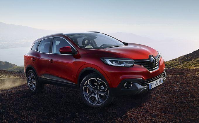 Photos officielles du #Renault #Kadjar qui vient d'être dévoilé par la marque à Paris lors d'une conférence de presse.