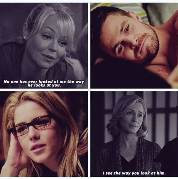 Arrow - Donna, Felicity, Oliver & Moira #2.13 #4.6 #Olicity